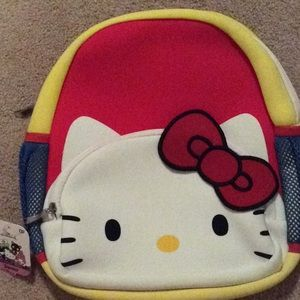 Hello kitty backpack, padded, girls